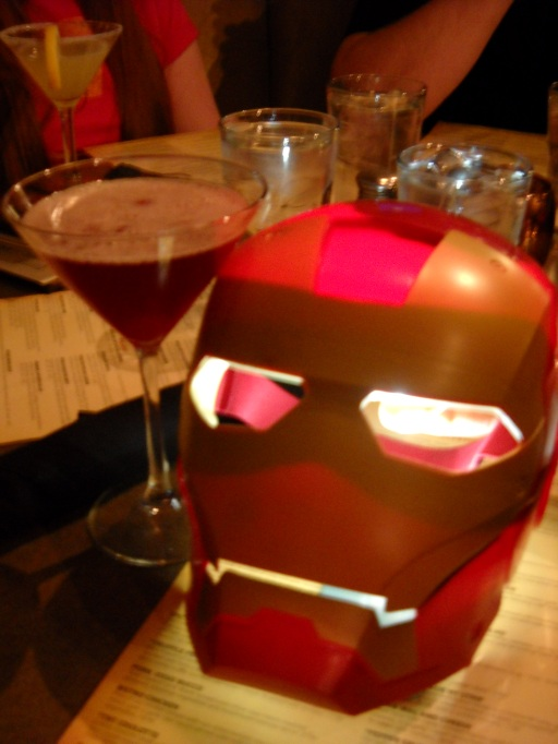 Would anyone care for an Iron Man-hattan?
